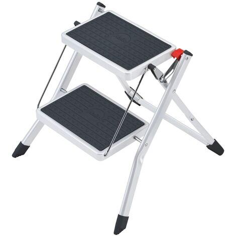 Hailo Stepladder with 2 Steps Mini 45 cm Steel 4310-001