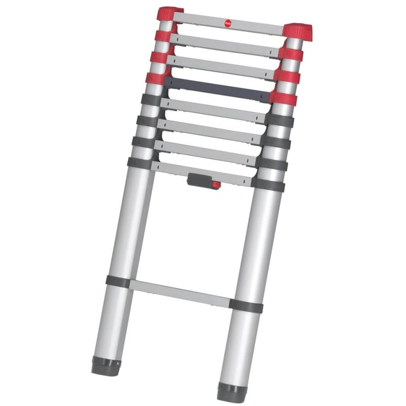 Image of Telescopic Ladder FlexLine 260 264 cm Aluminium 7113-091 - Hailo