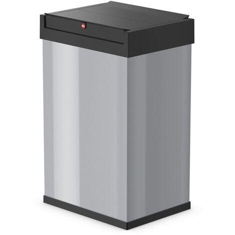 Hailo Waste Bin Big-Box Swing Size L 35 L Black 0840-141