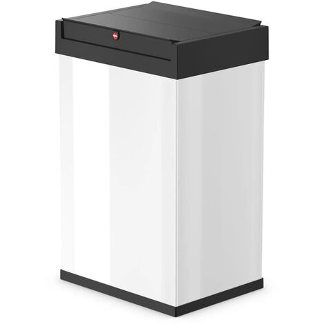 Hailo Waste Bin Big-Box Swing Size L 35 L White 0840-131 - White
