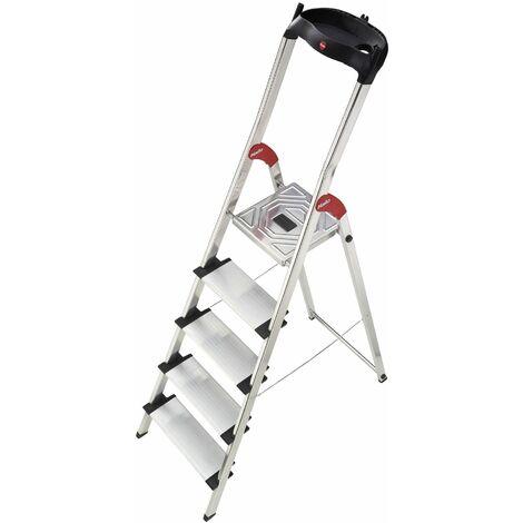 HailoXXL EasyClix - Escalera aluminio Nº Escalones - 8 escalones