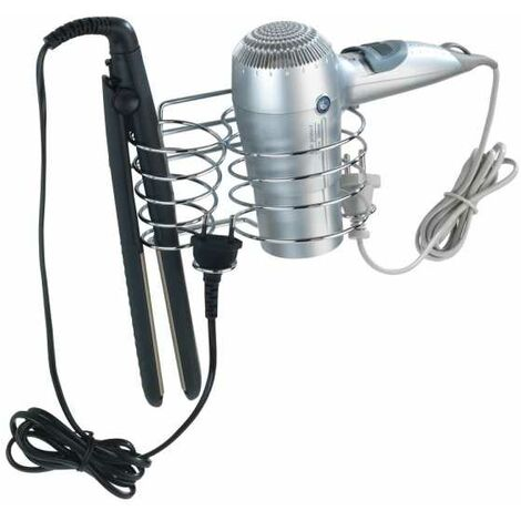 Hair dryer and hair straightener holder Classic WENKO