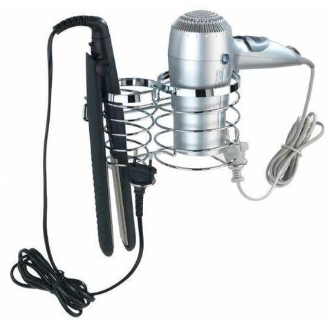 Hair dryer and hair straightener holder Premium WENKO