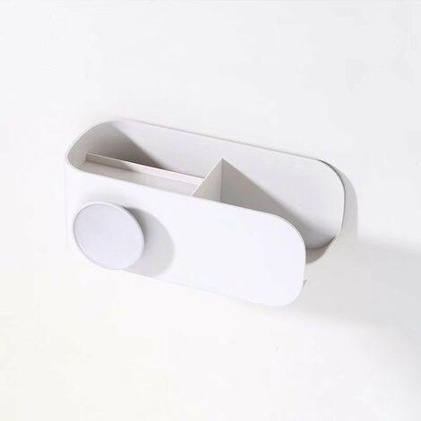 "main image of ""Hair Dryer Hair Punching Free Bathroom Toilet Stand for Toilet Wall Hair Dryer Hair Hair Hair Dryer (Gray)"""