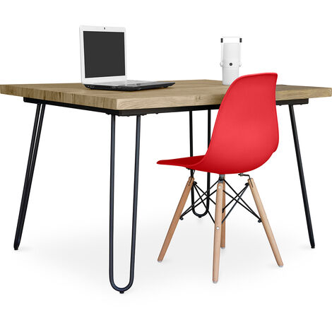 Hairpin 120x90 desk + Deswick chair