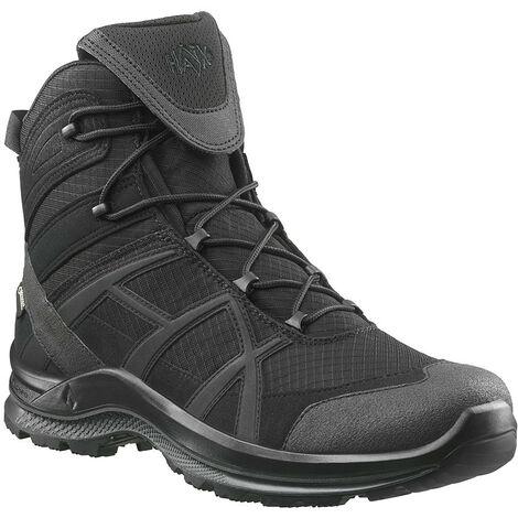 HAIX Black Eagle Athletic 2.1 GTX mid/black NOUVEAU: Design optimisé - Des chaussures robustes pour le travail et les