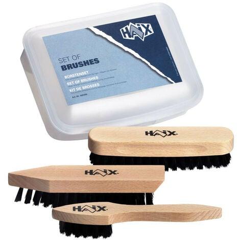 """main image of """"HAIX kit des brosses Set idéale pour l'entretien de vos chaussures HAIX."""""""