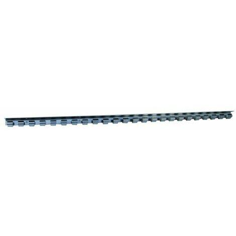 Hakenleiste / Vorhangschiene für Türvorhang, Edelstahl, 1,0 m