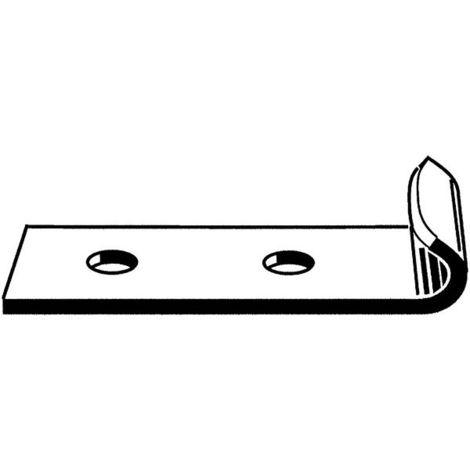 Hakenmaul für Bügelverschluß Stahl verzinkt NR2.00.00.04/5 5Stk