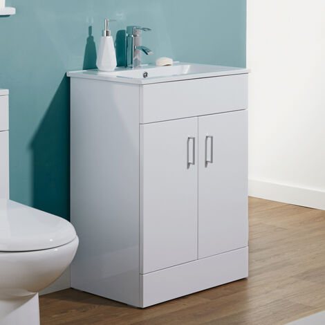 Hale Freestanding Basin Vanity Unit - 600mm