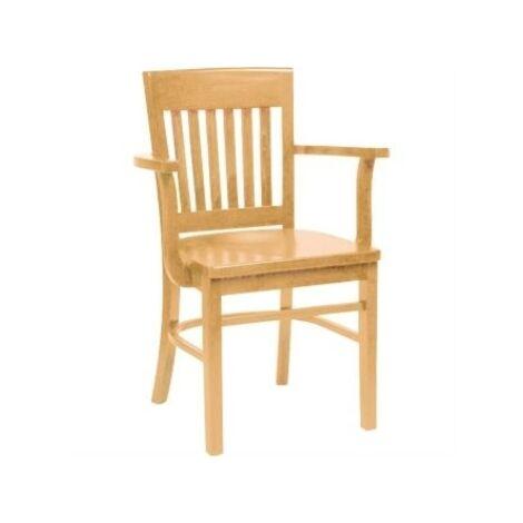 "main image of ""Hale Wood Chair Arms Beech"""