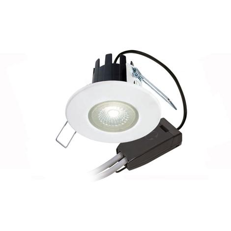 Halers H2 LiteT LED Downlight Matt White 4000K IP65