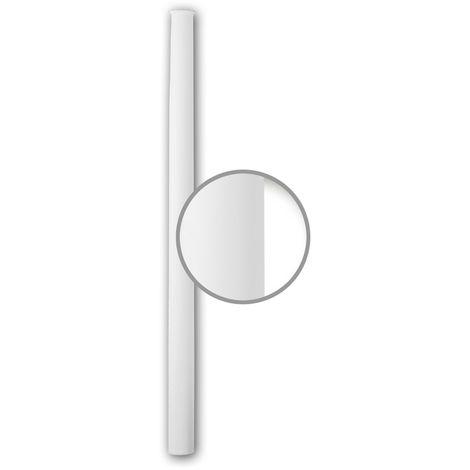 Half Column Shaft 116061 Profhome Column Decorative Element Neo-Classicism style white