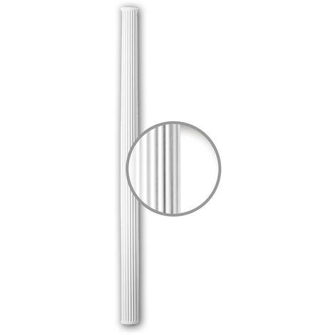 Half Column Shaft 116081 Profhome Column Decorative Element Neo-Classicism style white