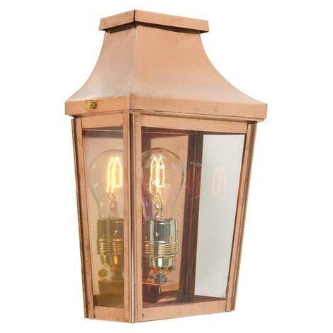 Half Lantern Small Copper by Washington Lighting