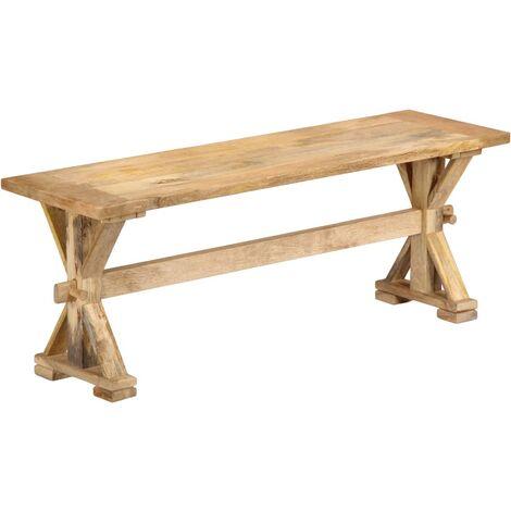 Hall Bench 120x35x45 cm Solid Mango Wood