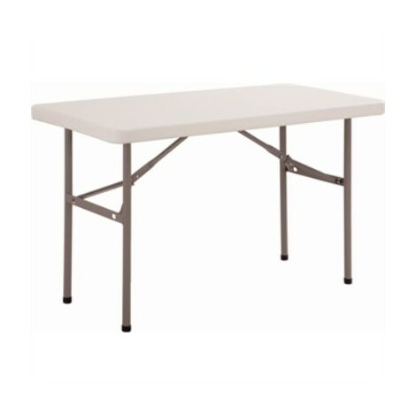 Halle Rectangle Folding Table Fully Assembled