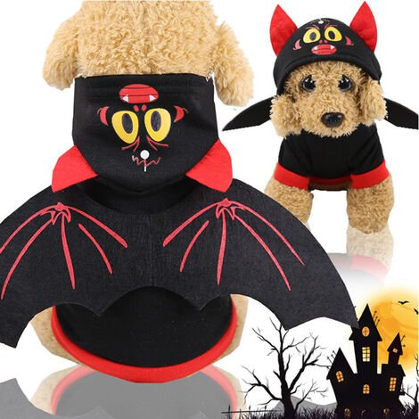 """main image of """"Halloween Style Pet Dog Clothes Soft Warm Autumn Winter Puppy Coat Pet Clothing Cosplay Costumes"""""""