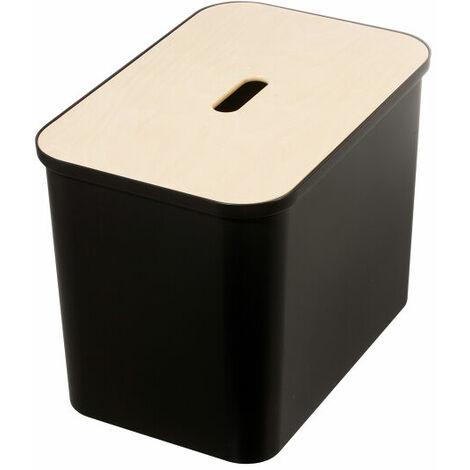 "main image of ""Hallway Shoe Storage Bench - Smartstore Collect - Black"""