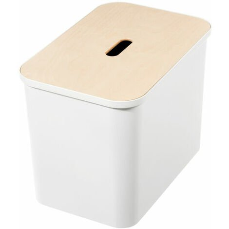 """main image of """"Hallway Shoe Storage Bench - Smartstore Collect - White"""""""