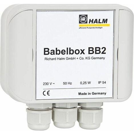 Halm HEP BB2 15 - 4.0 E130 Babelbox + pompe PWM, DN15, longueur 130 mm, 230V/50Hz