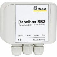 Halm HEP BB2 25-4.0 E130 Babelbox + pompe PWM, DN25, longueur 130 mm, 230V/50Hz