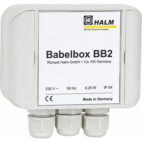Halm HEP BB2 25-7.0 E130 Babelbox + pompe PWM, DN25 longueur 130 mm, 230V/50Hz