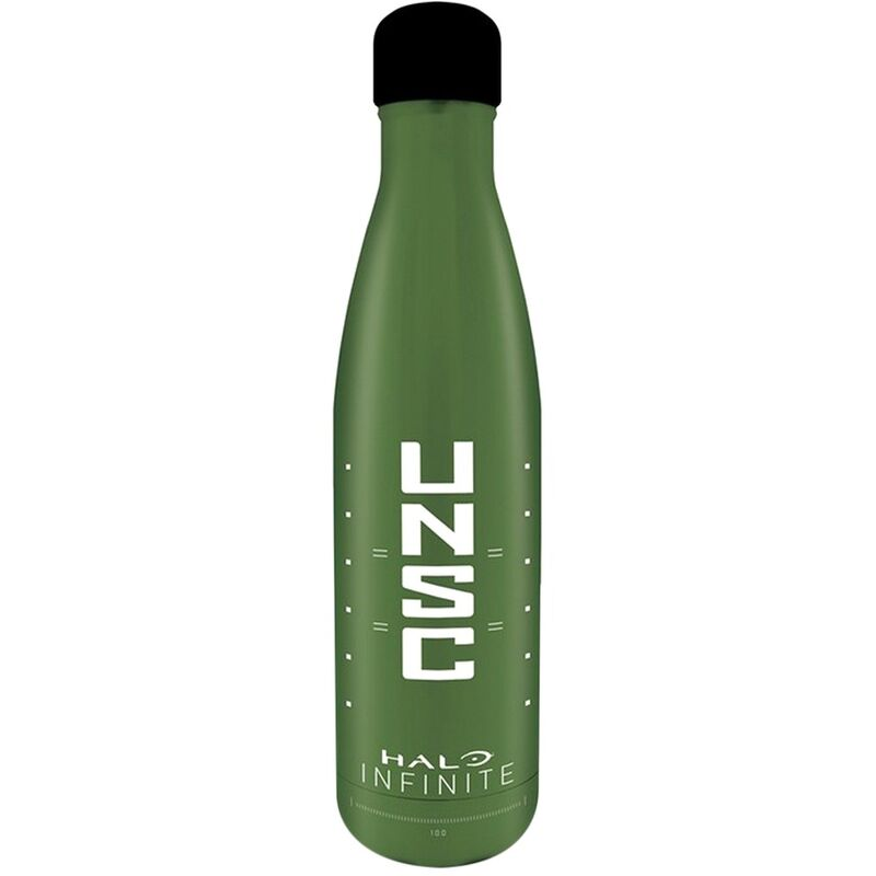 Image of UNSC Water Bottle (One Size) (Green/White) - Halo Infinite