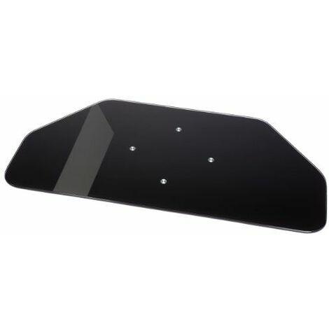 Hama 84029 Plateau rotatif en verre Noir pour LCD / Plasma Charge maxi 70kg
