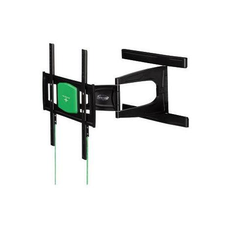 """Hama - Permet de fixer au mur un téléviseur à écran plat d´une diagonale comprise entre 23´´ et 46´´ (58 et 117cm)- Modèle ultra plat, idéal pour les intérieurs design ou pour gagner un maximum de place- Système """"\;Easy Fix""""\; permettant d¿orie (108749)"""