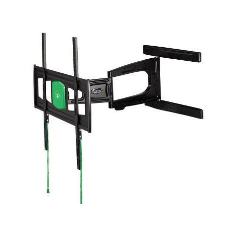 """Hama - Permet de fixer au mur un téléviseur à écran plat d´une diagonale comprise entre 37´´ et 65´´ (94 et 165cm)- Modèle ultra plat, idéal pour les intérieurs design ou pour gagner un maximum de place- Système """"\;Easy Fix""""\; permettant d¿orie (108751)"""