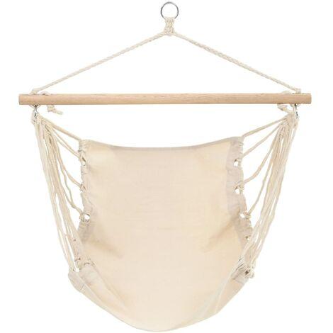Hamac chaise 100 x 80 cm beige