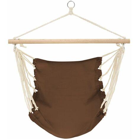 Hamac chaise 100 x 80 cm CHOCOLAT