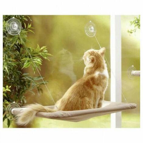 Hamac de fenêtre pour chats Anka 33 cm x 54 cm