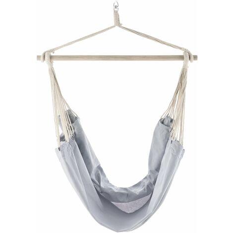 Hamac fauteuil suspendu chaise de jusqu'à 150 kg lilas