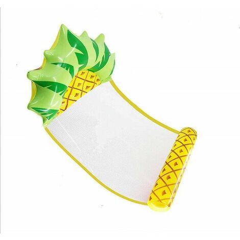 Hamac gonflable flottant en forme de fruit - Chaise longue inclinable - Pliable - Double usage - Piscine - Lit flottant - Chaise - Canapé - Tapis de plage - Tapis de bain,a