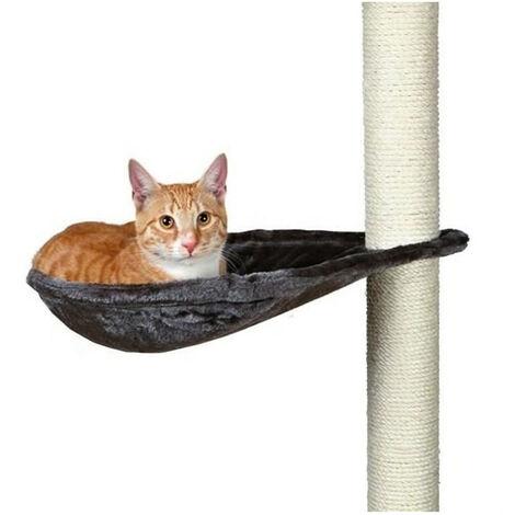 Hamac pour arbre à chat, en peluche - ø 40 cm, beige