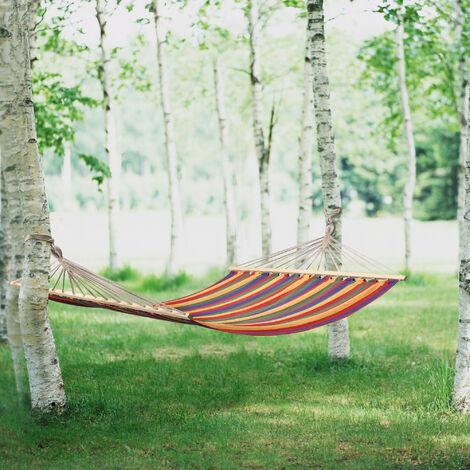 Hamac XXL (150 x 210 cm, diff?rentes couleurs) si?ge suspendu / balan?oire suspendue / hamac