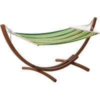 Hamaca de madera Relax - Dallas - 3m - Verde