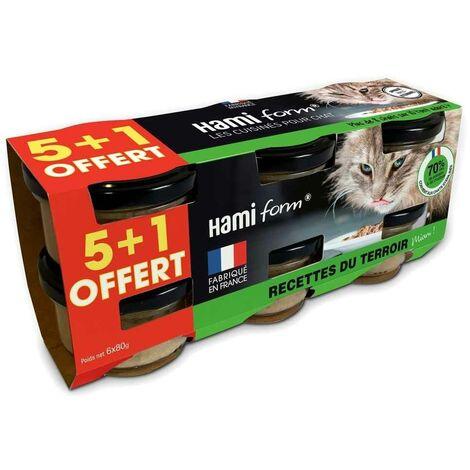 Hamiform - Pack de 6 Recettes du Terroir pour Chat - 6x80g