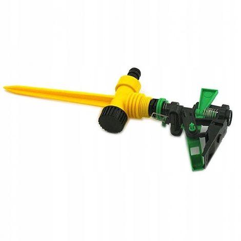 Hammered rotary garden sprinkler