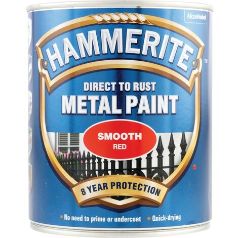 """main image of """"Hammerite Metal Paint Smooth Silver"""""""