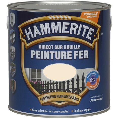 HAMMERITE FER BRI.LAQUE 0.75L ARGENT