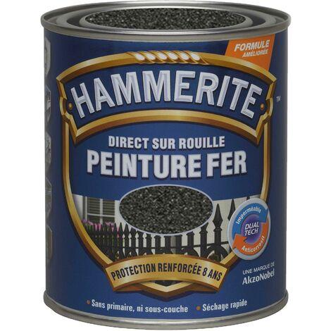 HAMMERITE FER FORGE 0.75L GRIS ZINC