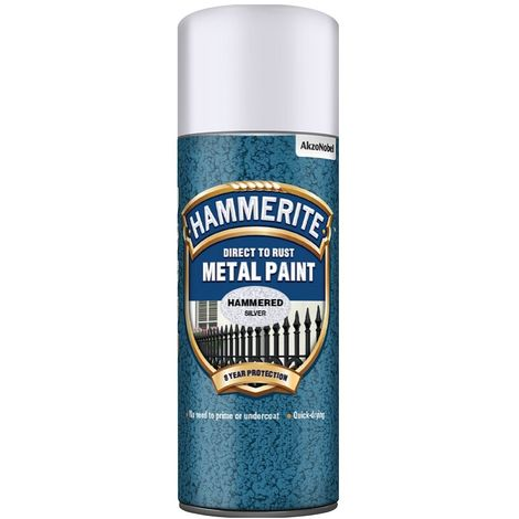Hammerite Hammered Finish 400ml Aerosol (select colour)