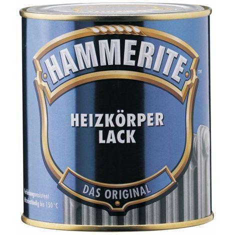 HAMMERITE Innen Metallschutz- und Heizungslack Glänzend Weiss 500ml - 5117970