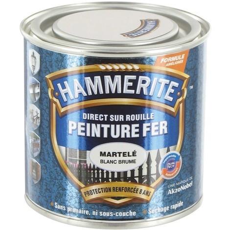 "main image of ""Hammerite Martel Blanc 0l25 - HAMMERITE"""