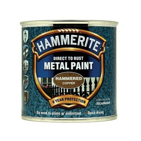 Hammerite Metal Paint Hammered Silver