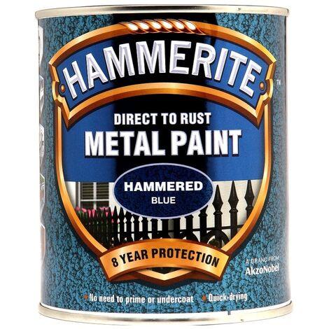 Hammerite Metal Paint Hammered White