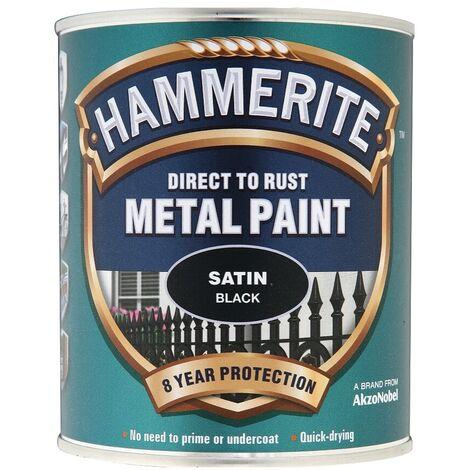 Hammerite Metal Paint Satin (select size)